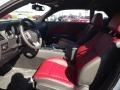 Radar Red/Dark Slate Gray Interior Photo for 2013 Dodge Challenger #72896329