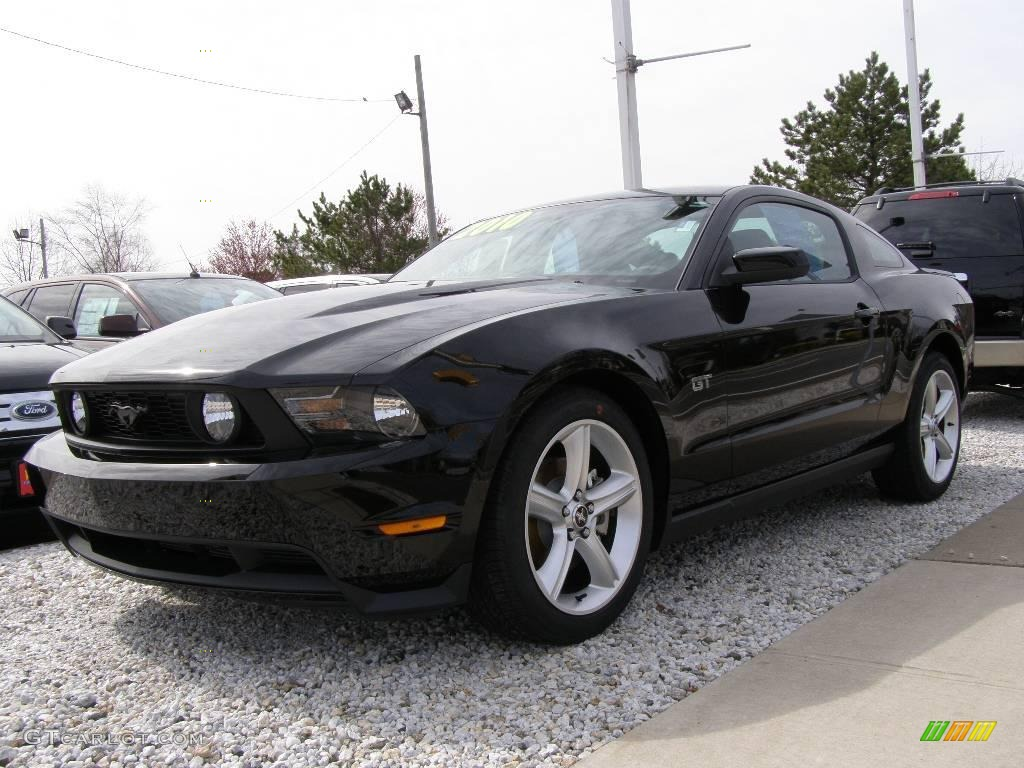 2010 black ford mustang gt premium coupe 7286048 car color galleries. Black Bedroom Furniture Sets. Home Design Ideas