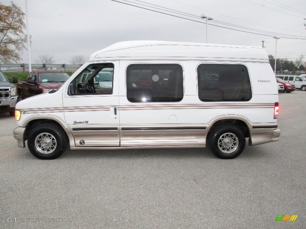oxford white 1997 ford e series van e150 conversion van. Black Bedroom Furniture Sets. Home Design Ideas
