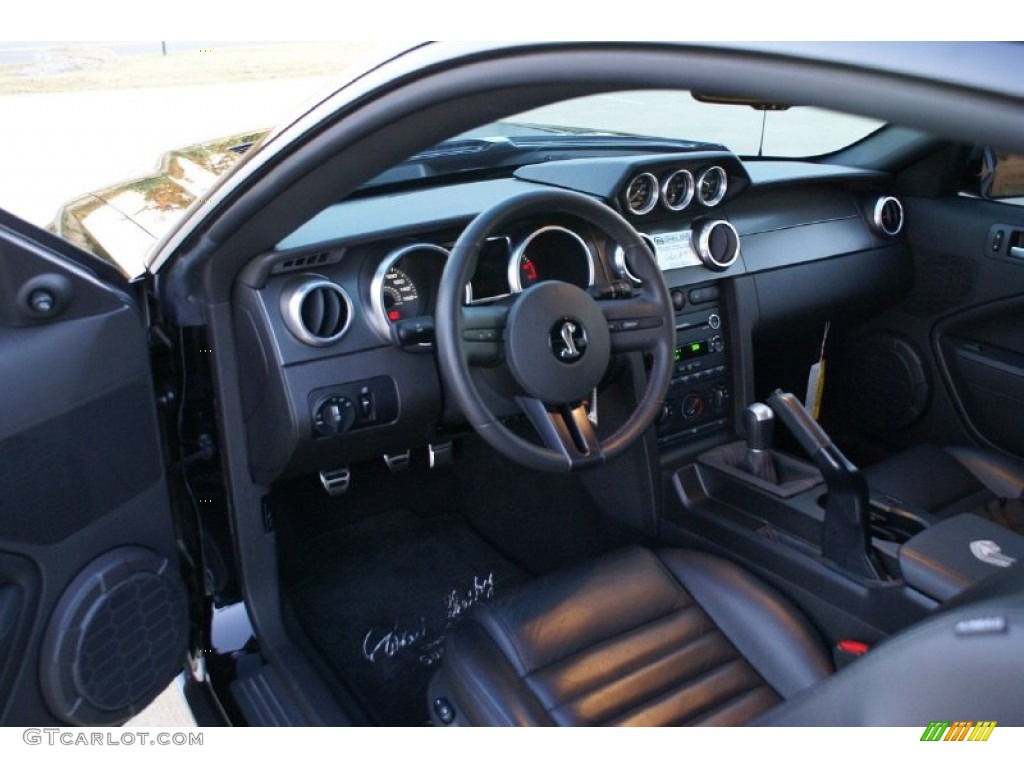 Black black interior 2009 ford mustang shelby gt500 super snake coupe photo 72908128