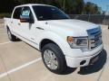 White Platinum Metallic Tri-Coat 2013 Ford F150 Gallery
