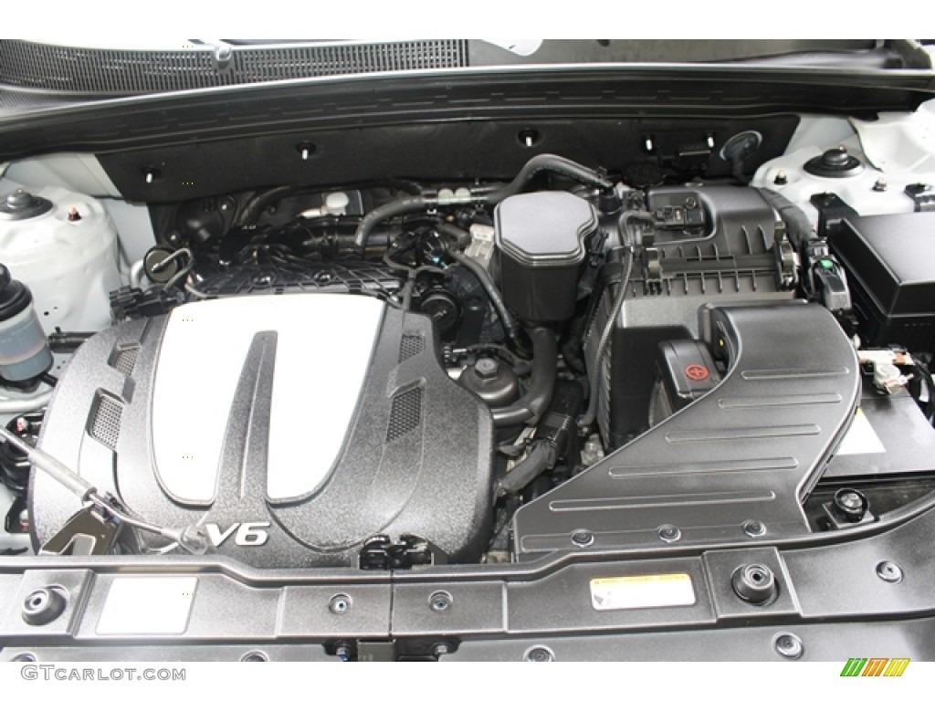 2011 Sorento EX V6 AWD - Bright Silver / Black photo #19