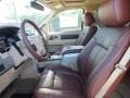 Front Seat of 2013 F150 King Ranch SuperCrew 4x4
