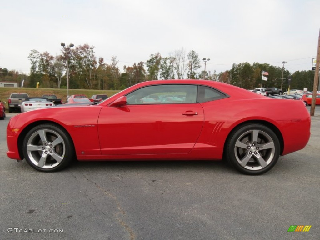 Victory Red 2010 Chevrolet Camaro Ss Rs Coupe Exterior