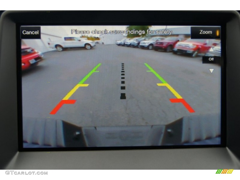 2013 Ford F150 SVT Raptor SuperCrew 4x4 Rear view camera display ...