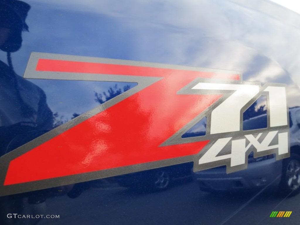 2013 Silverado 1500 LT Crew Cab 4x4 - Blue Topaz Metallic / Ebony photo #11