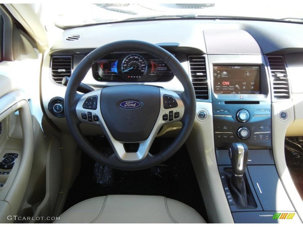 2013 Ford Taurus Sel Dune Dashboard Photo 72924781