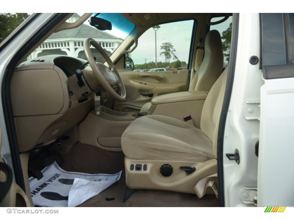 Medium Parchment Interior 2000 Ford Expedition Xlt Photo