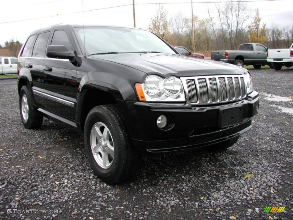 Black 2006 Jeep Grand Cherokee Limited 4x4 Exterior Photo 72936442