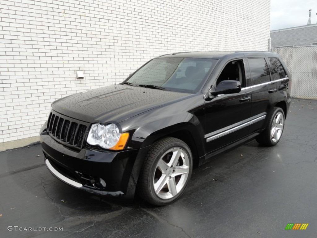 black 2008 jeep grand cherokee srt8 4x4 exterior photo 72937474. Black Bedroom Furniture Sets. Home Design Ideas