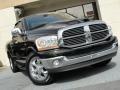 2006 Black Dodge Ram 1500 Laramie Quad Cab  photo #7