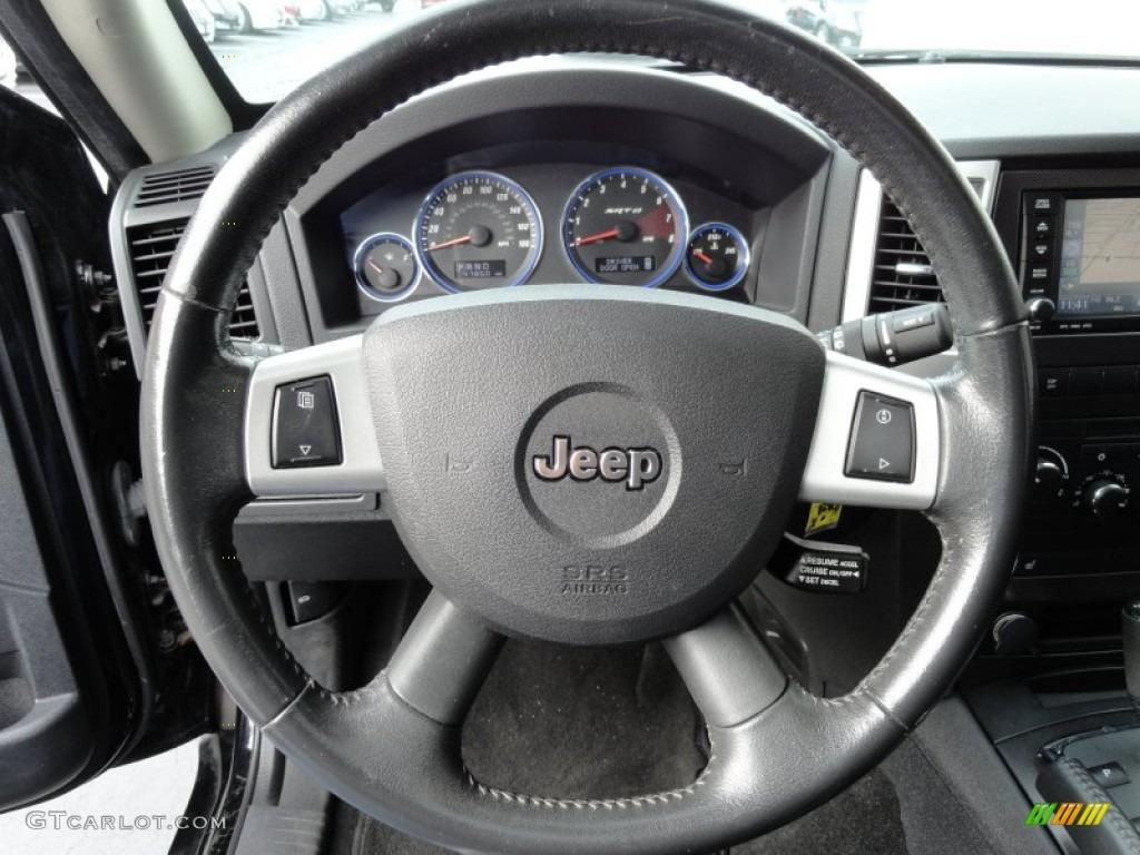 2008 jeep grand cherokee srt8 4x4 dark slate gray steering. Black Bedroom Furniture Sets. Home Design Ideas