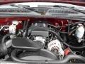 2000 Dark Carmine Red Metallic Chevrolet Silverado 1500 LS Extended Cab 4x4  photo #17