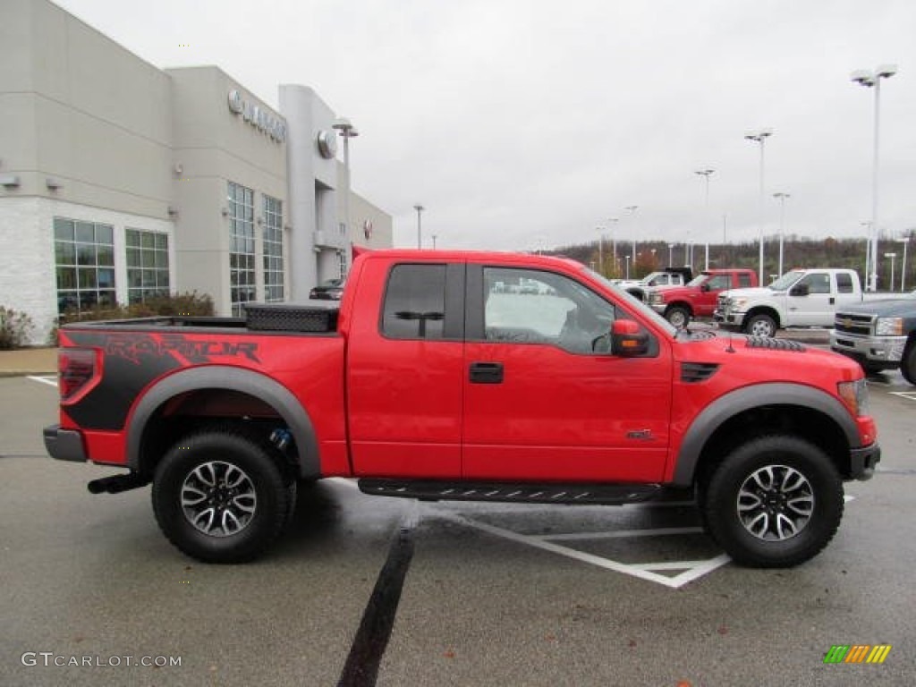 race red 2012 ford f150 svt raptor supercab 4x4 exterior photo 72956460. Black Bedroom Furniture Sets. Home Design Ideas
