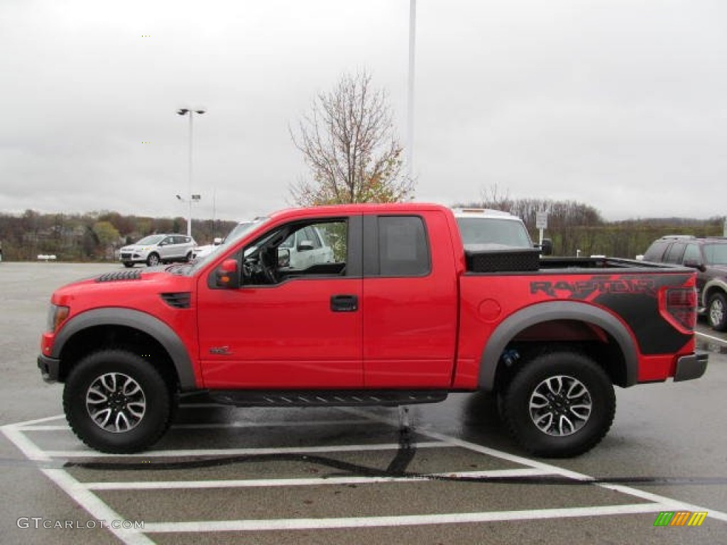 race red 2012 ford f150 svt raptor supercab 4x4 exterior photo 72956574. Black Bedroom Furniture Sets. Home Design Ideas