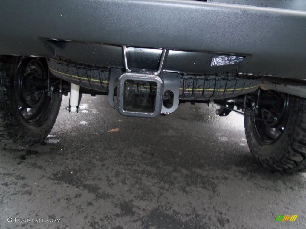 2013 Silverado 1500 Work Truck Regular Cab 4x4 - Black / Dark Titanium photo #10