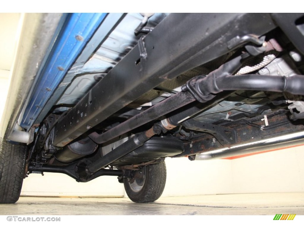 2006 Toyota Tacoma V6 Trd Sport Double Cab 4x4 Undercarriage Photo  72960617