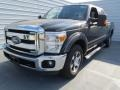 2012 Green Gem Metallic Ford F250 Super Duty XLT Crew Cab  photo #6
