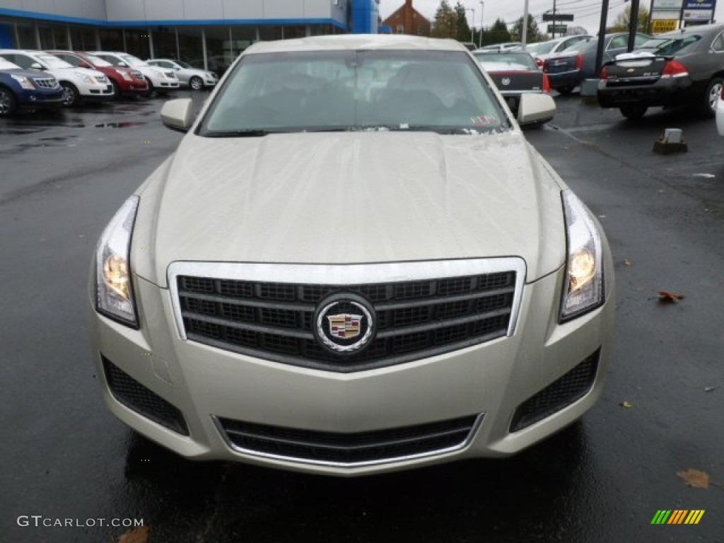 2013 Silver Coast Metallic Cadillac Ats 2 0l Turbo Awd