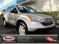 2009 Alabaster Silver Metallic Honda CR-V EX  photo #1