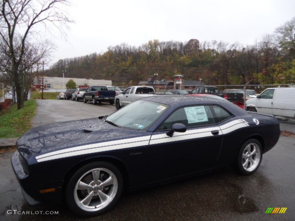 2013 Challenger R/T Classic - Jazz Blue Pearl / Dark Slate Gray photo #1