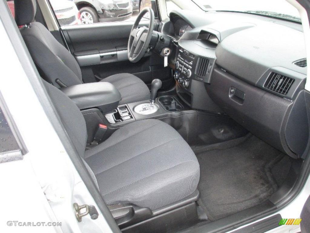 Charcoal Interior 2006 Mitsubishi Endeavor Ls Awd Photo 72988055