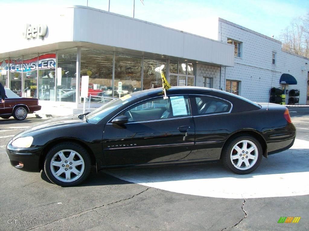 2001 Black Chrysler Sebring Lxi Coupe  7270326