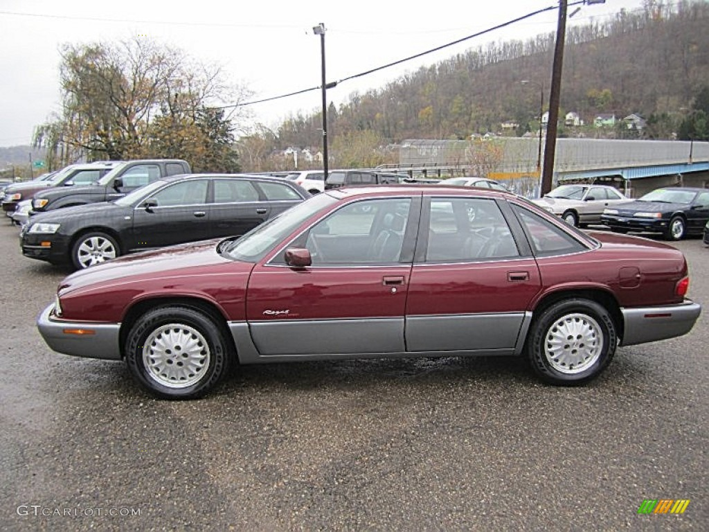 medium garnet red metallic 1996 buick regal gran sport sedan exterior photo 73004492. Black Bedroom Furniture Sets. Home Design Ideas