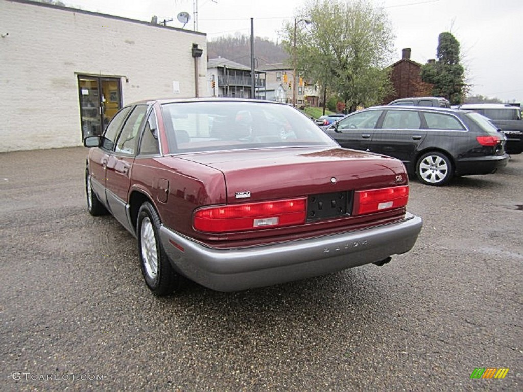 medium garnet red metallic 1996 buick regal gran sport sedan exterior photo 73004566. Black Bedroom Furniture Sets. Home Design Ideas