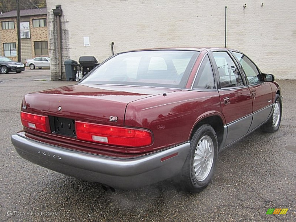 medium garnet red metallic 1996 buick regal gran sport sedan exterior photo 73004623. Black Bedroom Furniture Sets. Home Design Ideas