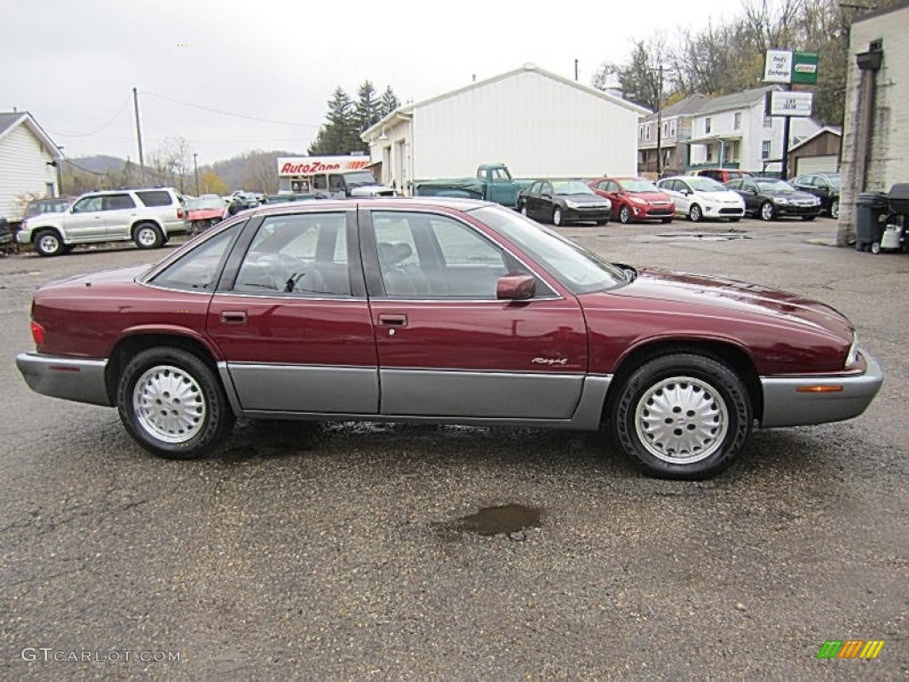1996 medium garnet red metallic buick regal gran sport sedan 72991936 photo 8. Black Bedroom Furniture Sets. Home Design Ideas