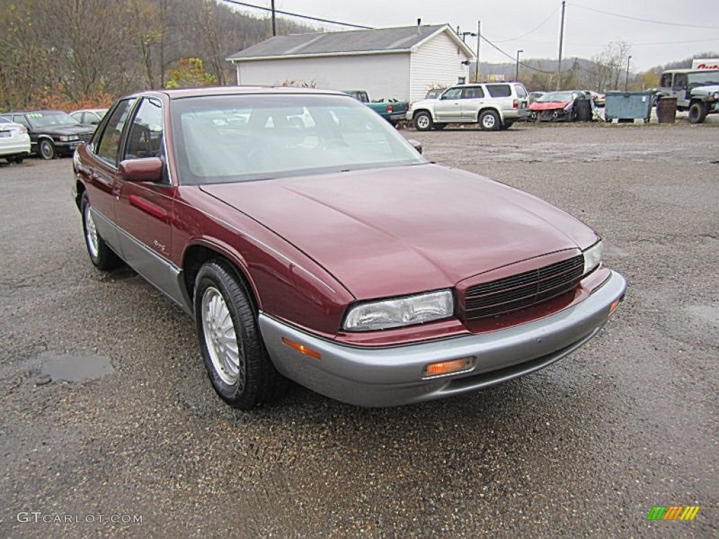 medium garnet red metallic 1996 buick regal gran sport. Black Bedroom Furniture Sets. Home Design Ideas