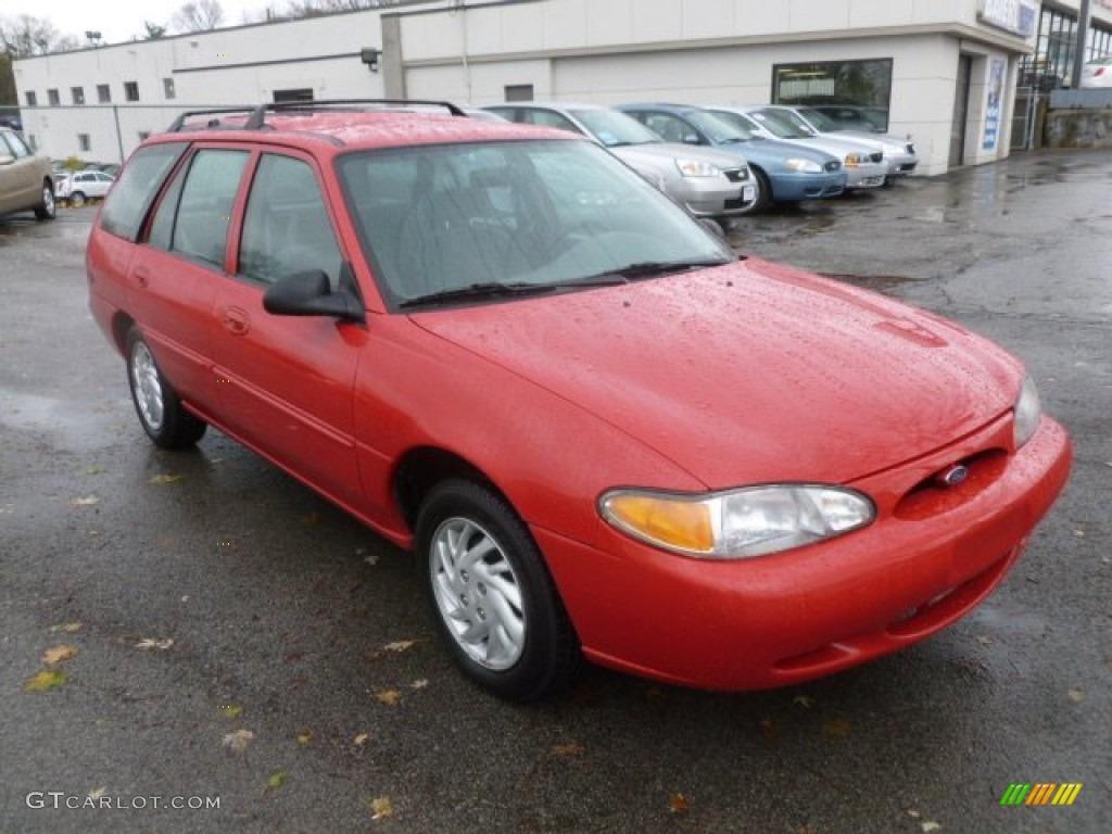 1999 bright red ford escort se wagon 72992322 gtcarlot com car color galleries gtcarlot com