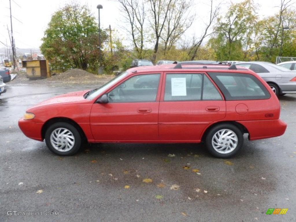 1999 bright red ford escort se wagon 72992322 photo 4 gtcarlot com car color galleries gtcarlot com