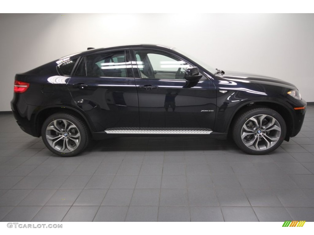 Carbon Black Metallic 2013 Bmw X6 Xdrive35i Exterior Photo