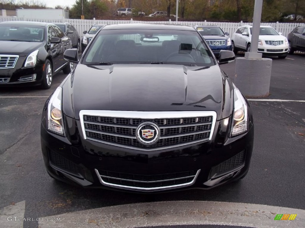 black raven 2013 cadillac ats 3 6l luxury exterior photo 73017817. Black Bedroom Furniture Sets. Home Design Ideas