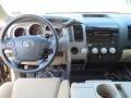 Sand Beige 2013 Toyota Tundra Texas Edition CrewMax Dashboard