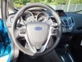 Charcoal Black Steering Wheel Photo for 2013 Ford Fiesta #73022458