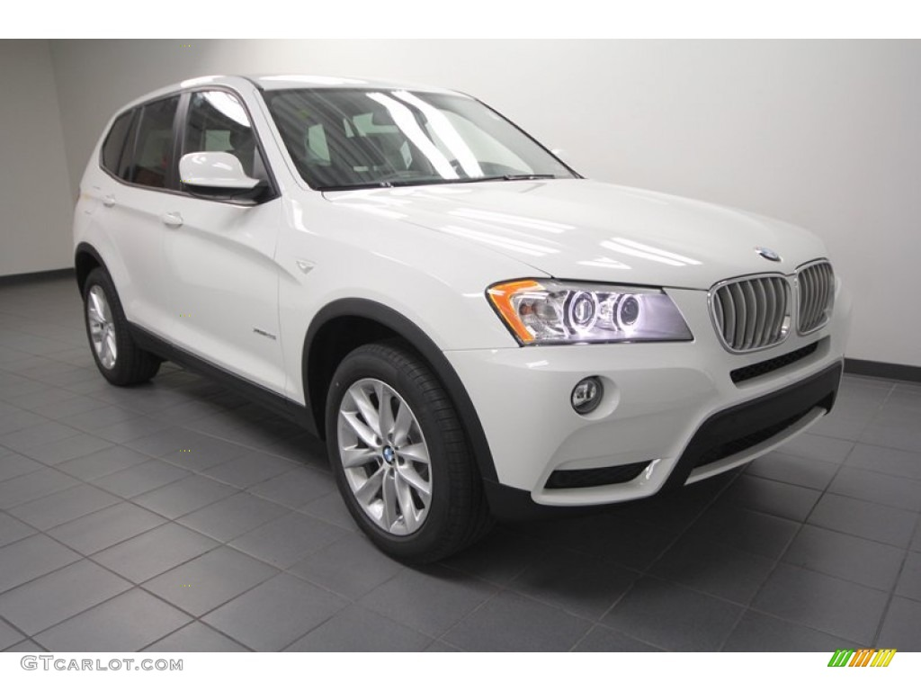 Alpine White 2013 Bmw X3 Xdrive 28i Exterior Photo 73022809