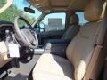 2012 White Platinum Metallic Tri-Coat Ford F250 Super Duty Lariat Crew Cab 4x4  photo #3