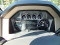 2012 White Platinum Metallic Tri-Coat Ford F250 Super Duty Lariat Crew Cab 4x4  photo #15