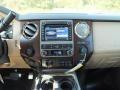 2012 White Platinum Metallic Tri-Coat Ford F250 Super Duty Lariat Crew Cab 4x4  photo #17