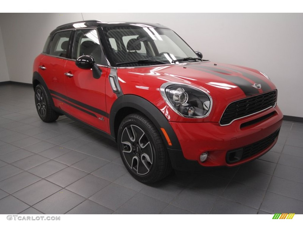 2012 pure red mini cooper s countryman all4 awd 72991903. Black Bedroom Furniture Sets. Home Design Ideas