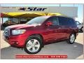 Salsa Red Pearl 2008 Toyota Highlander Gallery