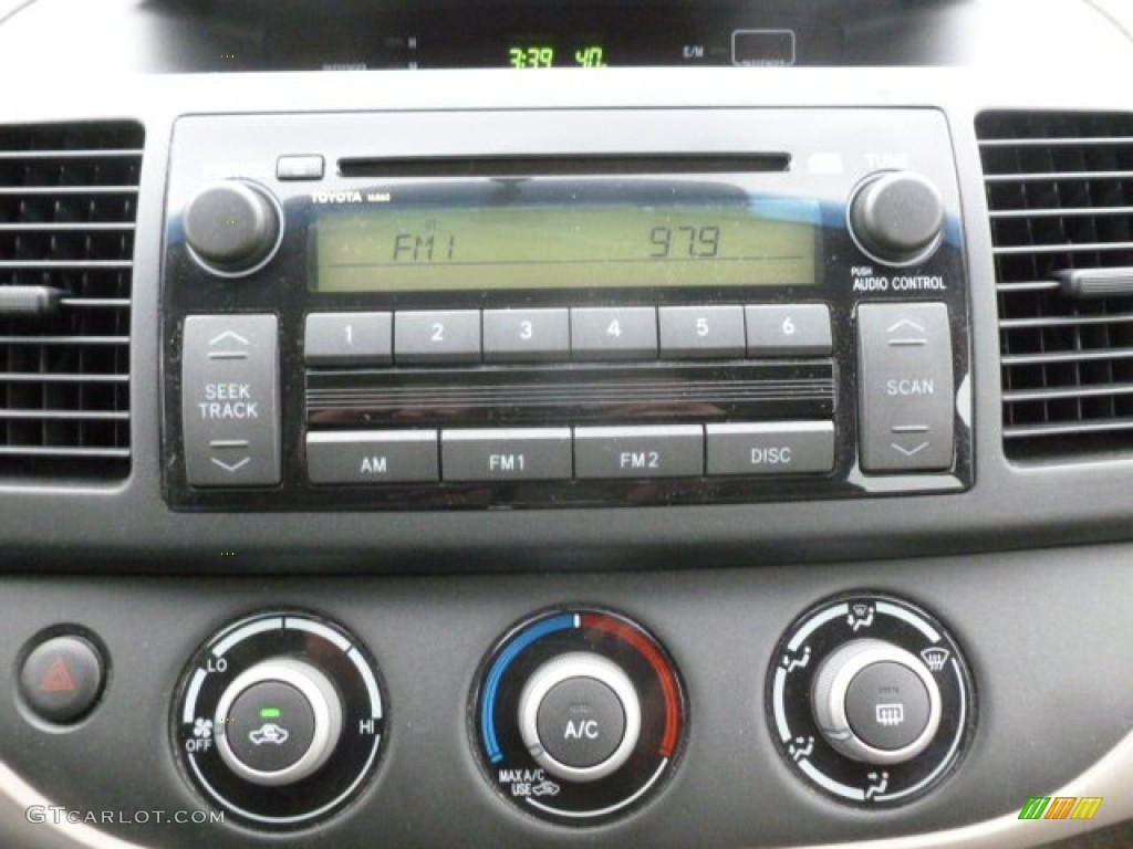 2005 toyota camry le audio system photos. Black Bedroom Furniture Sets. Home Design Ideas