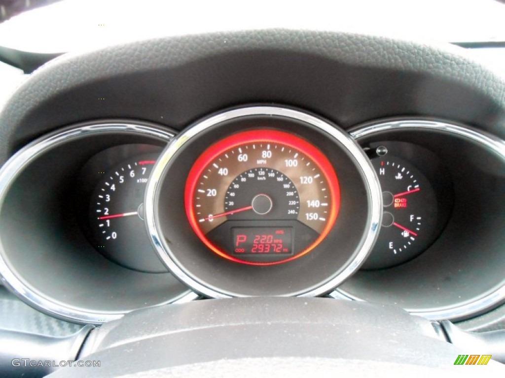 2011 Sorento SX V6 AWD - Bright Silver / Black photo #7