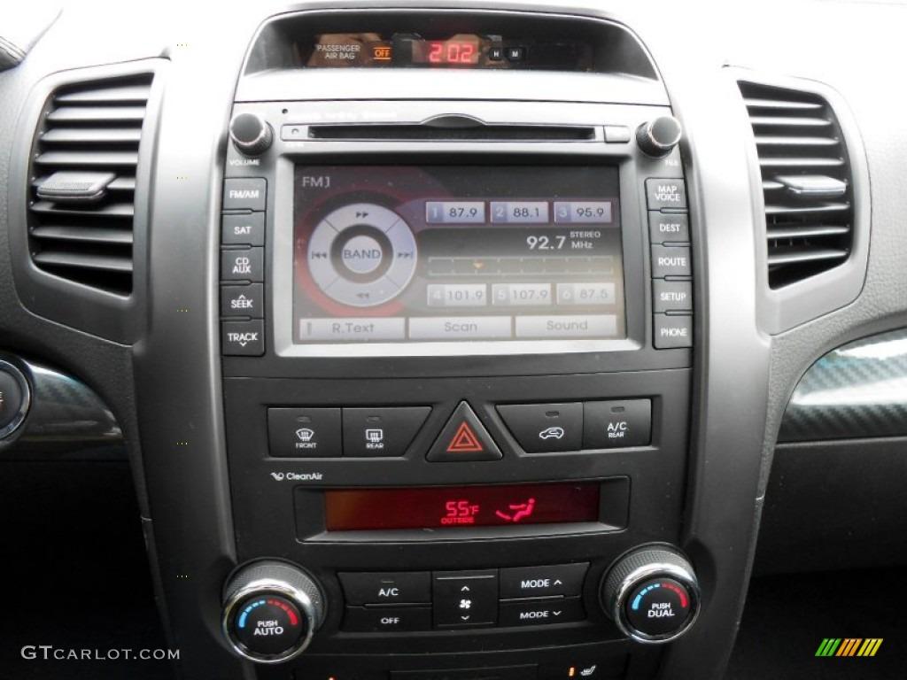 2011 Sorento SX V6 AWD - Bright Silver / Black photo #8