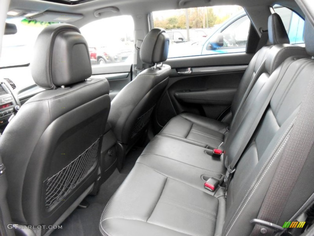 2011 Sorento SX V6 AWD - Bright Silver / Black photo #12