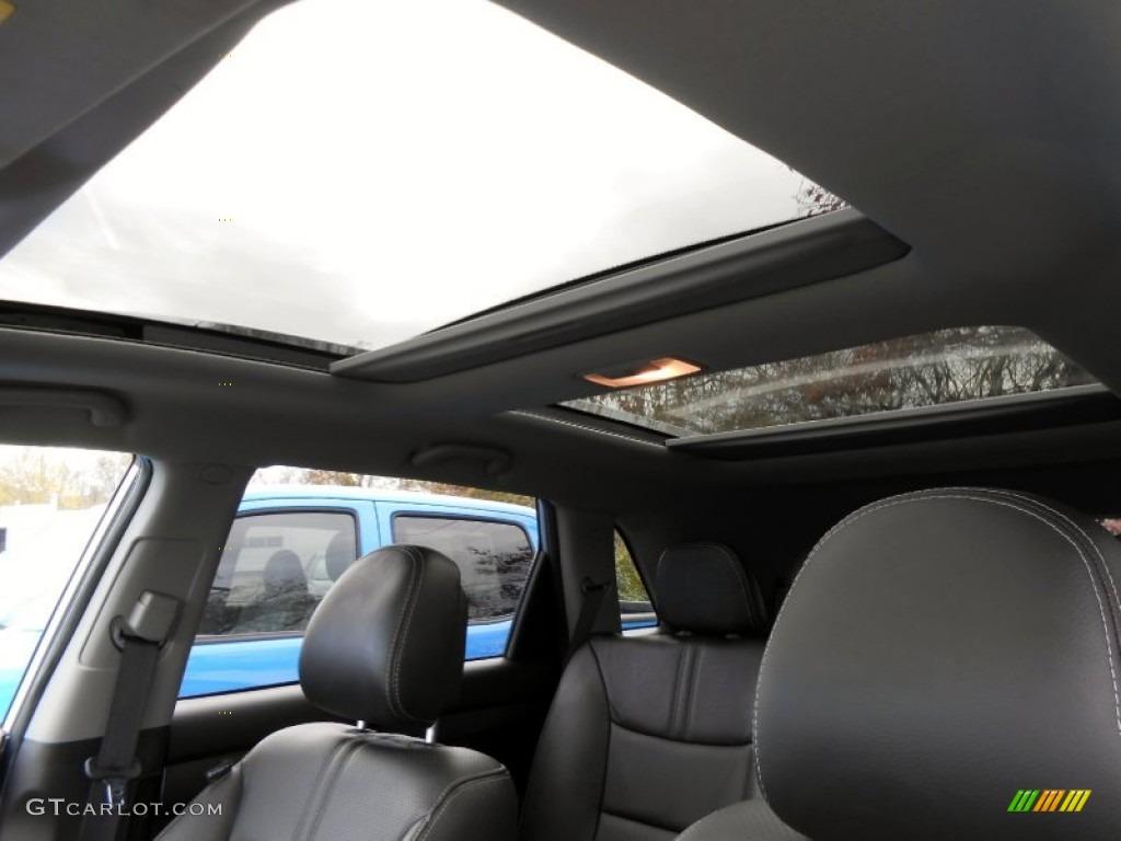 2011 Sorento SX V6 AWD - Bright Silver / Black photo #14