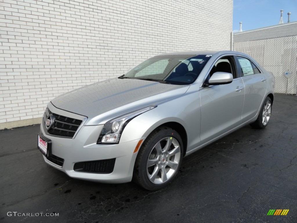 2013 Cadillac Ats 2.0 L Turbo >> 2013 Radiant Silver Metallic Cadillac Ats 2 0l Turbo Awd